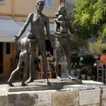 Memorial to Holocaust vitctims, Platia Neou Frouriou, Corfu