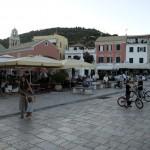 Gaios, town square