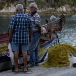 Fishermen and cat, Gaios